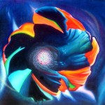 flower, abstract flower, abstract paintings, simplified flower