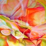confection, bubbles, water droplets, grasshopper paintings,