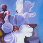 Japanese flowers, realism, cherry blossoms, white flowers,