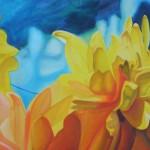 mighty flowers, dahlias, yellow dahlias, yellow flowers,