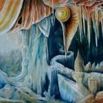 cathedral, stalactites, interior landscape
