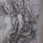 pencil drawing, eternity drawing, landscape drawing,