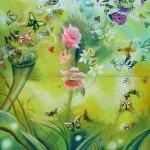flowerpot, butterfly drawings, butterfly garden, butterflies