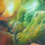 onward, cosmic painting, cloud paintings, journey paintings,