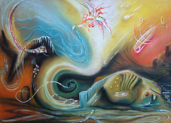 horse's head, surrealism, alternative worlds, alternative realities,
