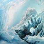ice house, ice house painting, ice paintings, house of ice,