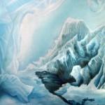 ice house, ice house painting, ice paintings, house of ice,
