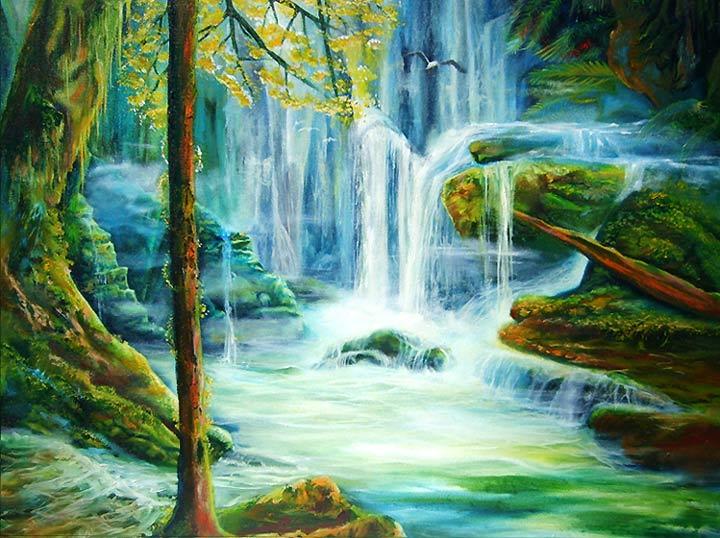 Landscape Paintings - Leonard Aitken - Artist