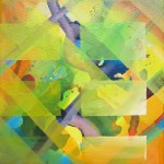 Geo - Abstract $135 Oil on canvas 20 * 20 cm