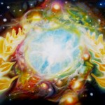 Celebration, celestial paintings,angel paintings, heaven paintings, eternity paintings,