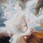Celestial Beauty, heaven paintings, celestial flower, nebula paintings, Christian heaven paintings,
