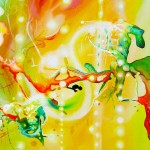 emerging joys, yellow paintings, joy paintings, happy paintings,