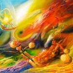 Happy Creation, creation, improvised paintings, eternity paintings, masters works,