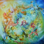 little cosmos, cosmos, stars, astral paintings,