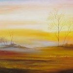 Morning Serenity $880 Oil on canvas 100 * 75 cm