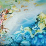 cosmic paintings, cloud paintings, ethereal paintings,