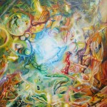 super vortex, vortex, sci fi paintings, ultra busy paintings,