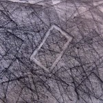 Finally, frottage, frottage drawings, infinite rectangles,