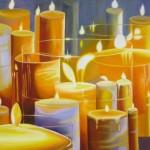 Ambrosia 2 $950 Oil on canvas 100 * 75 cm
