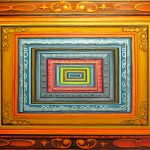 painting of frames, infinity paintings, worlds within worlds,