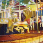 Carousel, merry go round, carousel paintings, carousel lights,