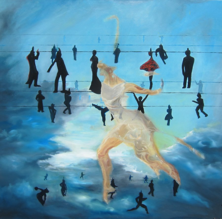 Personal Formulations $1450 Oil on canvas 100 * 100 cm