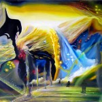 journey, journey paintings, multi-dimensional, multi-dimensional paintings, nuclear light,