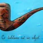 Tactile Still Life, the treason of images, magritte, this painting is an object,