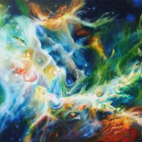 The Supreme Nebula, cosmic paintings, nebula paintings, eternity, cosmos,