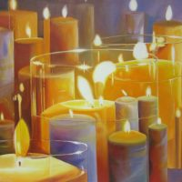 ambrosia, candles